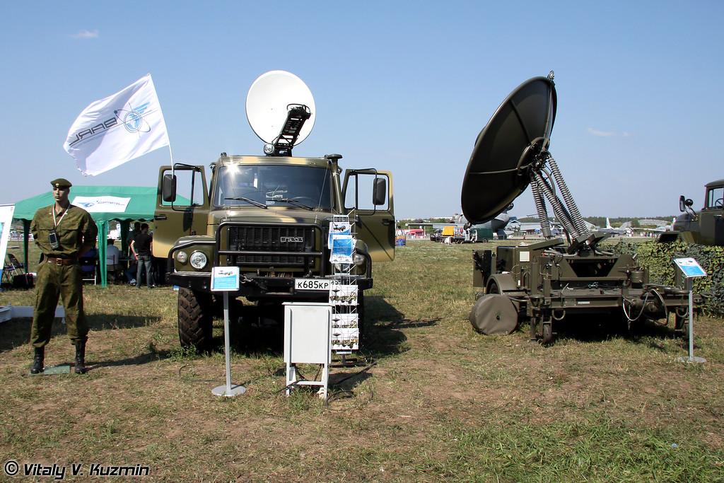 Мобильный комплекс всепогодного мониторинга Triton WM (Mobile satellite system Triton WM)