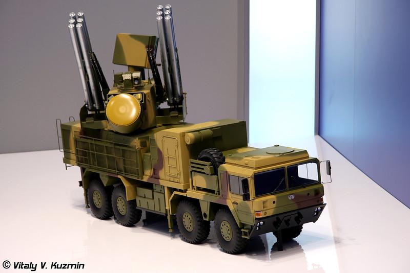 ЗРПК Панцирь-С1 на шасси MAN (Pantsir-S1 on MAN chassis)