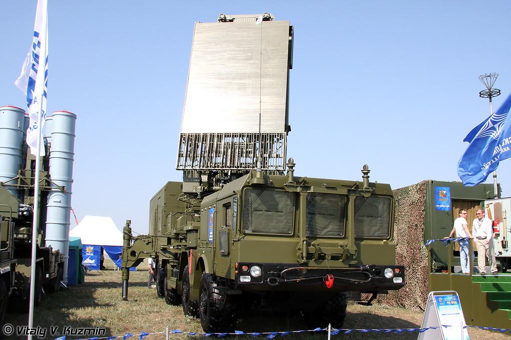 ПУ 5П85ТЕ2 и РЛС 96Л6Е (TEL 5P85TE2 and 96L6E radar)