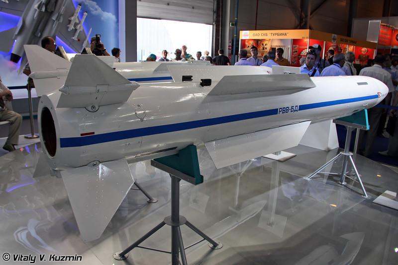 Авиационная управляемая ракета средней дальности РВВ-БД (Long-range air-to-air guided missile RVV-BD)