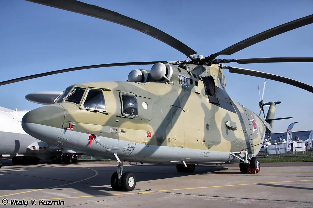 Многоцелевой транспортный вертолёт Ми-26 (Heavy transport helicopter Mi-26)