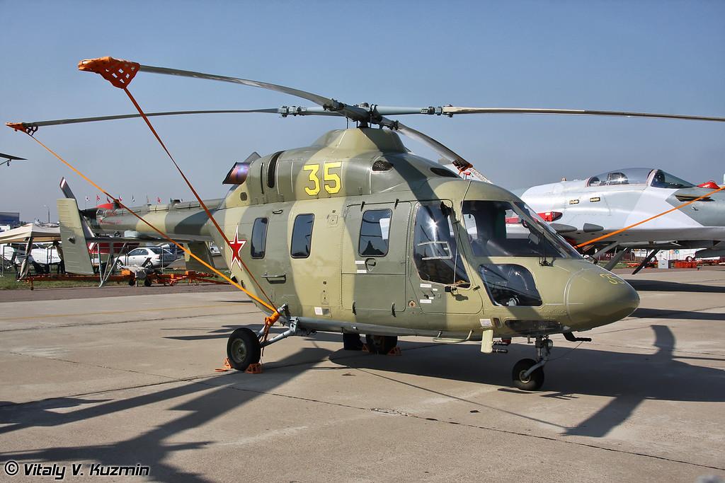 Учебно-тренировочный вертолет Ансат-У (Ansat-U training version)