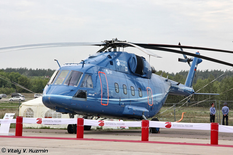 Второй опытный экземпляр Ми-38 или Ми-38 ОП-2 (Second prototype Mi-38 or Mi-38 OP-2)