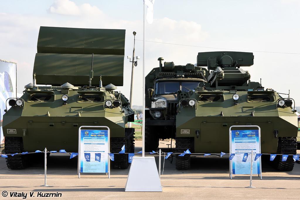 МРЛС 1Л121Е и 1Л122-2Е (Radars 1L121E and 1L122-2E)