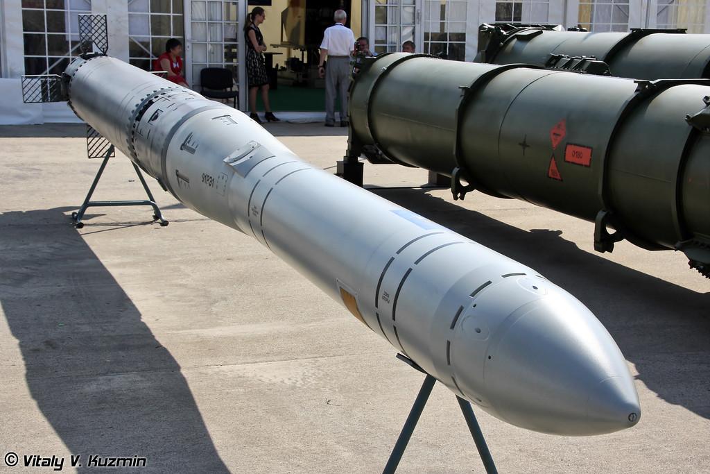 Ракета 91РЭ1 для вооружения подводных лодок из состава интегрированной ракетной системы Калибр-ПЛЭ/Club-S предназначена для уничтожения подводных лодок (91RE1 submarine launched anti-submarine missile from Kalibr-PLE/Club-S system)