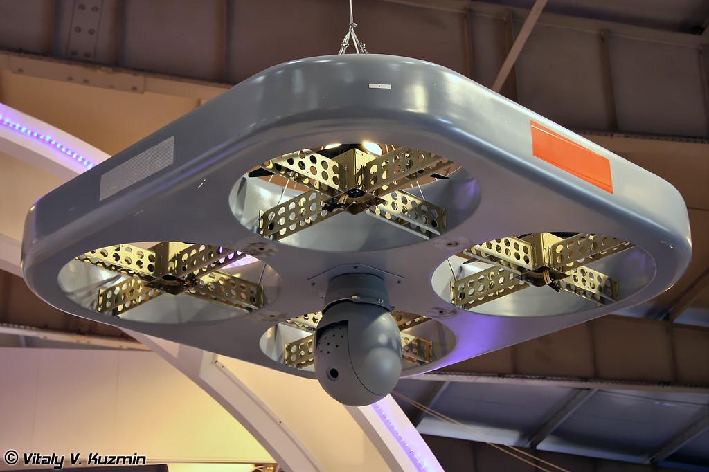 Электрическая беспилотная платформа наблюдения ETOP (ETOP electrical power airborne tethered platform for observation)
