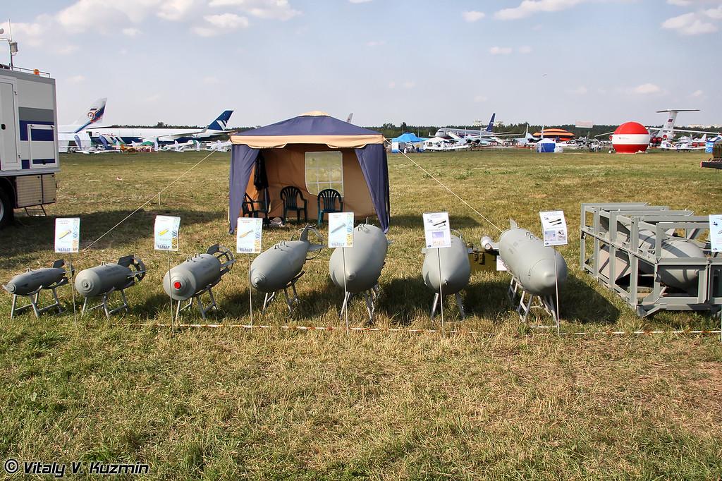 Авиационные бомбовые средства поражения (Aviation bombs)