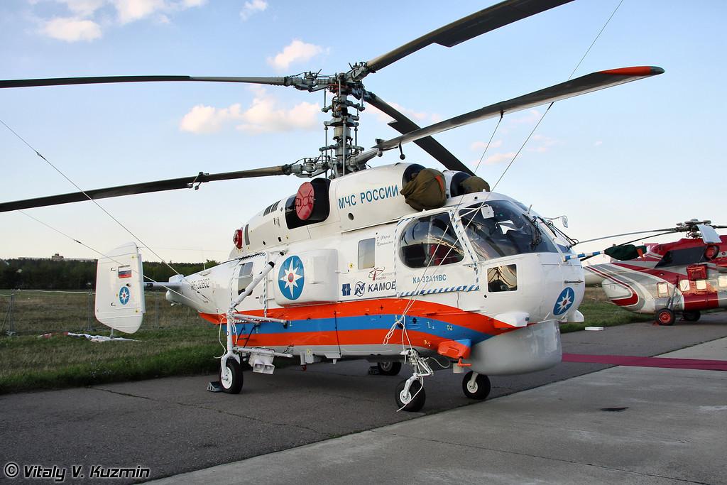 Многоцелевой вертолет Ка-32А11ВС (Multipurpose helicopter Ka-32A11VS)