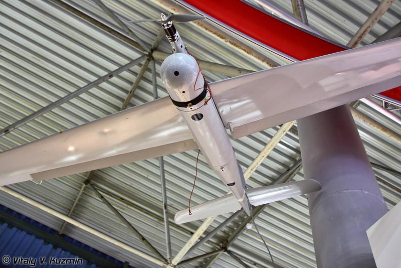 Изображение на планшет может передаваться с БПЛА (UAV for the system)