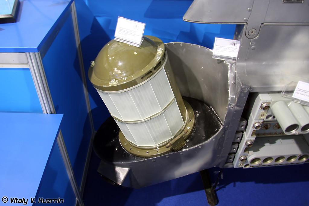 Станция оптико-электронного подавления Адрос КТ-03УЭ (IRCM jammer Adros KT-03UE)