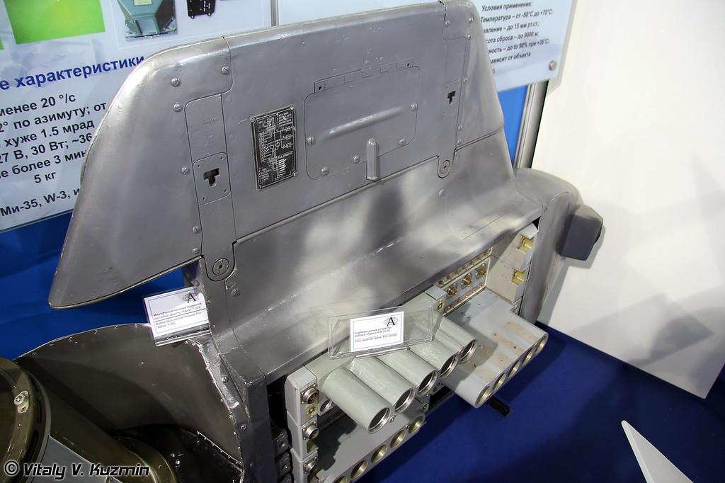 Многофункциональный подвесной контейнер защиты Адрос Т-32С (Adros system multifunctional pod T-32S)