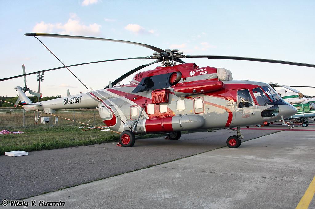 Ми-8АМТ в VIP варианте (Mi-8AMT in VIP version)