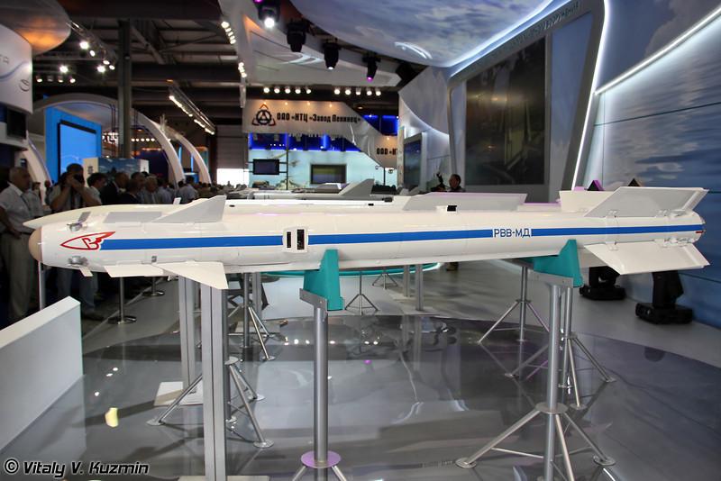 Авиационная управляемая ракета малой дальности РВВ-МД (Short-range air-to-air guided missile RVV-MD)