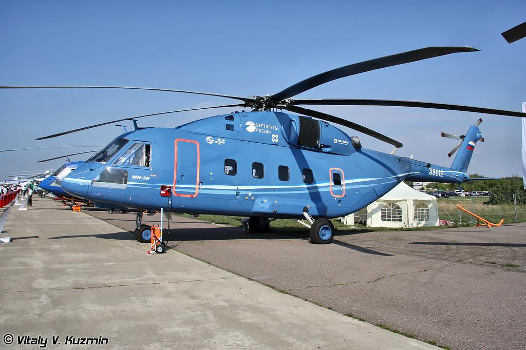 Второй опытный экземпляр Ми-38 или Ми-38 ОП-2 (Second prototype Mi-38 or Mi-38 OP-2)