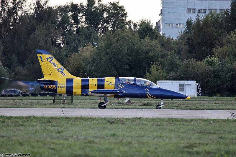 L-39 пилотажной группы Baltic Bees