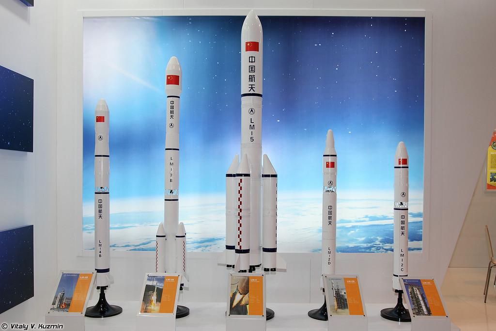Китайские ракеты-носители (The family of Chinese LM rockets)