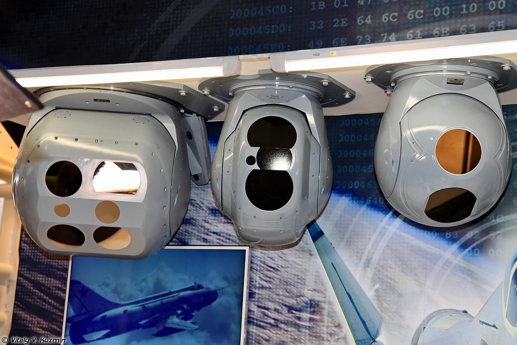 Оптико-электронные станции ГОЭС-451, ГОЭС-324 системы ОПС-24Н и ГОЭС-337М (Electro-optical systems GOES-451, GOES-324 and GOES-337M)