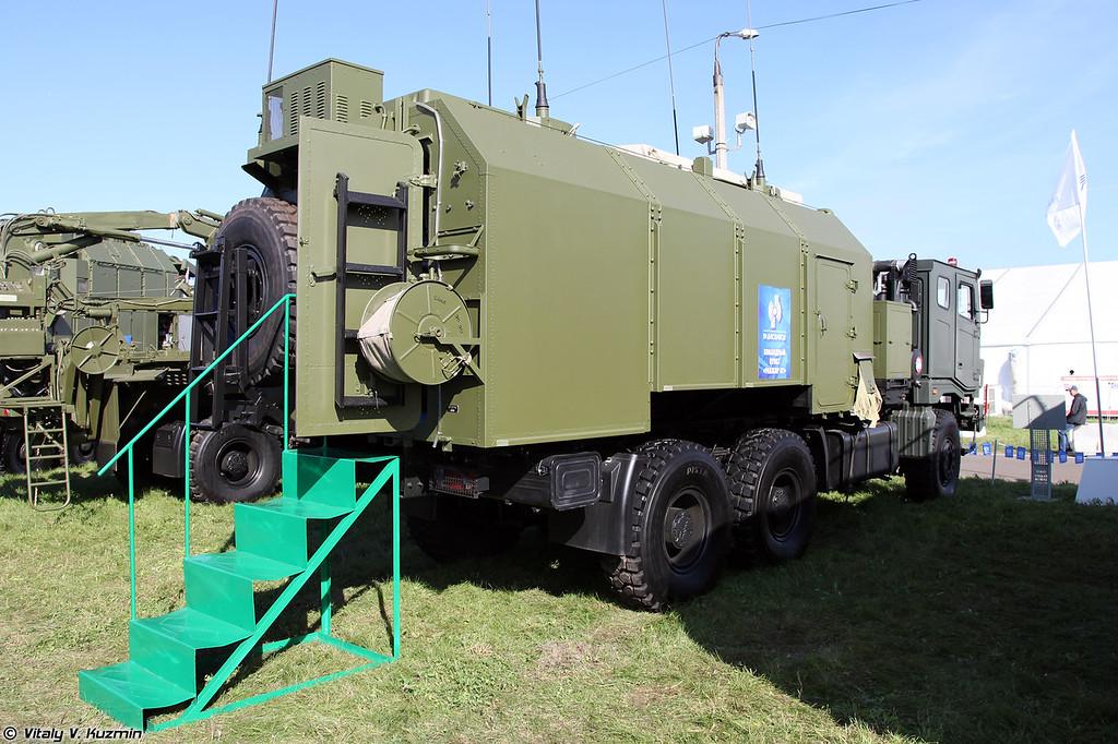 Унифицированный командный пункт 9С737МК Ранжир-М1 на шасси ТАТА (9S737MK Ranzhir-M1 unified command post on TATA chassis)