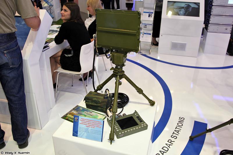 Модернизированная портативная РЛС разведки 1Л111М Фара-ВР (Portable reconnaissance radar 1L111M Phara-VR)