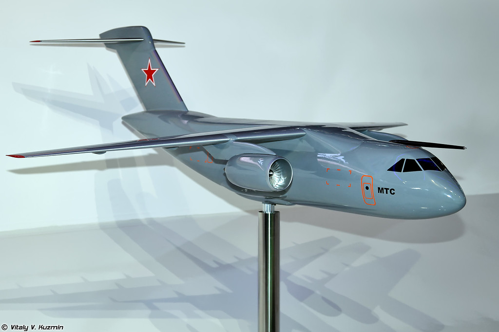 Многоцелевой транспортный самолет МТС (MTS project model)