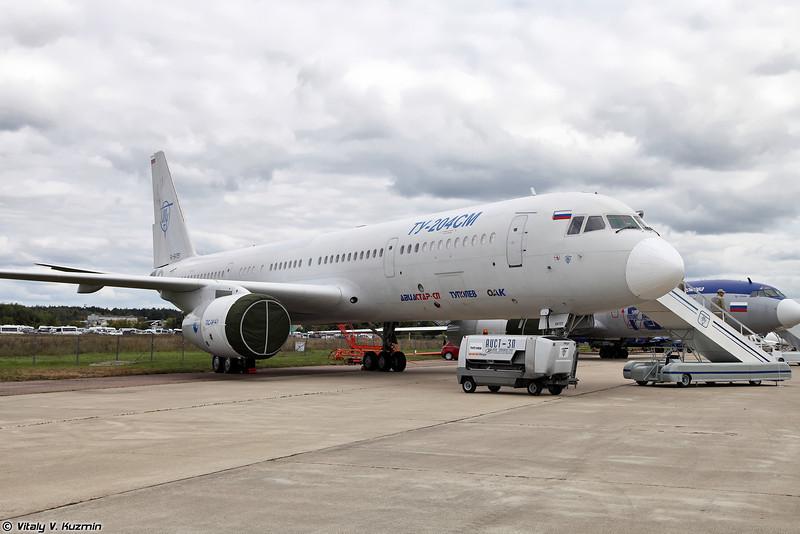 Ту-204СМ (Tu-204SM)