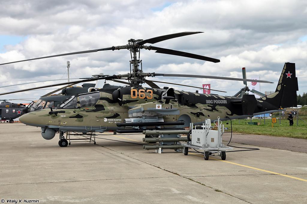 """Еще один Ка-52 со стоянки ОАО """"Вертолеты России"""" (One more Ka-52)"""