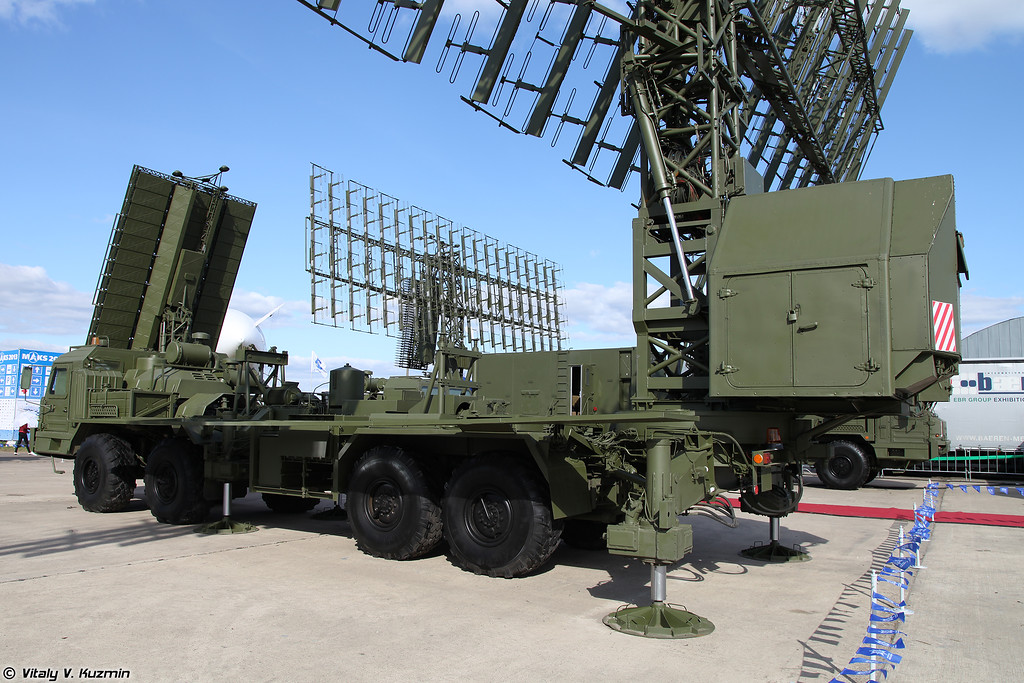 Радиолокационный комплекс 55Ж6МЕ (55Zh6ME Nebo-ME mobile multiband radar system)<br /> Радиолокационный модуль метрового диапазона волн РЛМ-МЕ (RLM-ME radar)