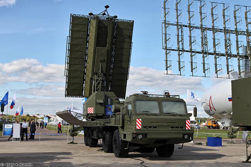 Радиолокационный комплекс 55Ж6М (55Zh6M Nebo-M mobile multiband radar system)<br /> Радиолокационный модуль дециметрового диапазона волн РЛМ-Д (RLM-D radar)