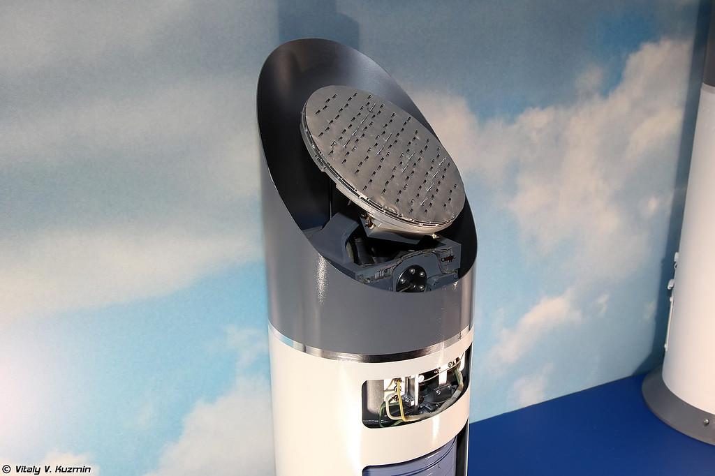 Активная радиолокационная головка самонаведения 9Б-1103М-200ПА с дополнительным полуактивным каналом (9B-1103M-200AS active radar seeker head with semiactive additional channel)