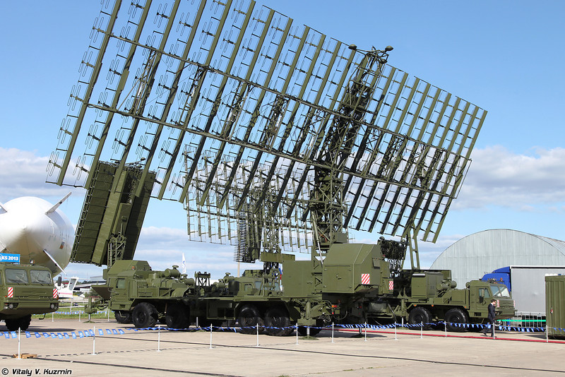 Радиолокационный комплекс 55Ж6М (55Zh6M Nebo-M mobile multiband radar system)<br /> Радиолокационный модуль метрового диапазона волн РЛМ-М (RLM-M radar)