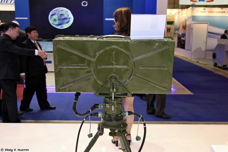 Переносная РЛС разведки 1Л277 (Portable reconnaissance radar 1L227)