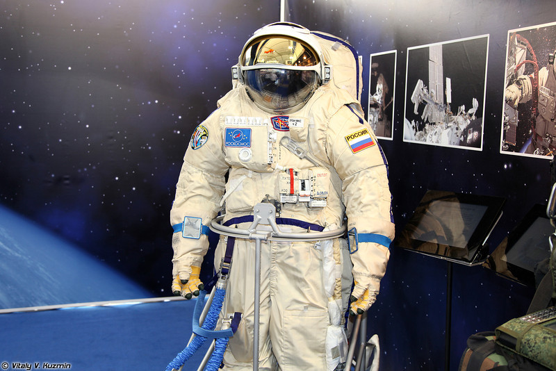 Скафандр Орлан-МКС (Orlan-MKS space suit)