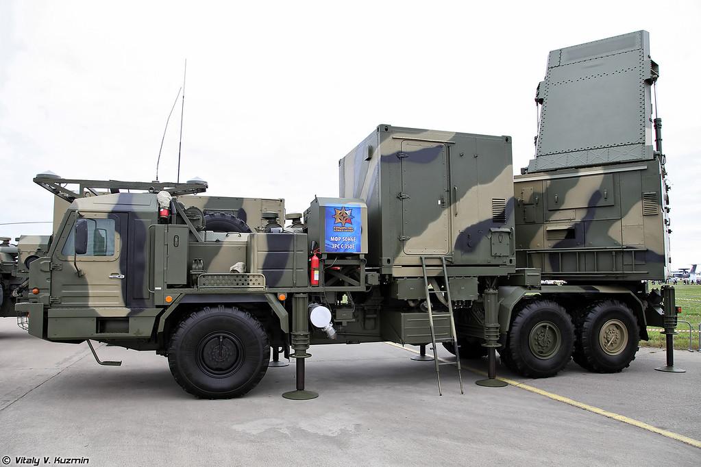 Зенитная ракетная система С-350Е Витязь - Многофункциональный радиолокатор 50Н6Е (S-350E Vityaz Surface-to-air missile system - 50N6E multifunctional radar)