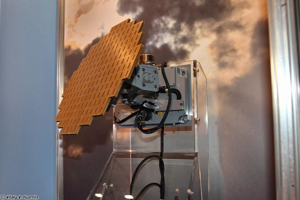 Бортовой метеонавигационный радиолокатор Контур-10М (Meteorological-navigation radar KONTUR-10M)