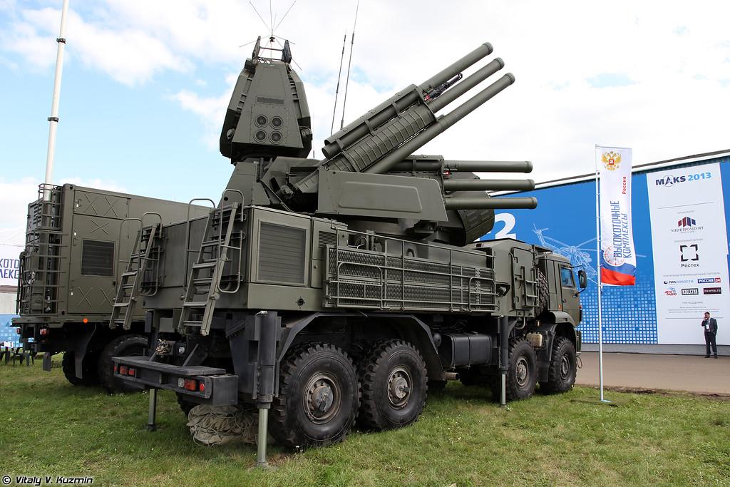 Боевая машина 72В6-Е4 из состава ЗРПК Панцирь-С1 (Pantsir-S1 system combat vehicle 72V6-E4)