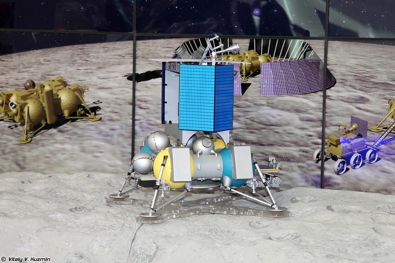 Космический аппарат Луна-Ресурс посадочный (Luna-Resurs Moon landing spacecraft)