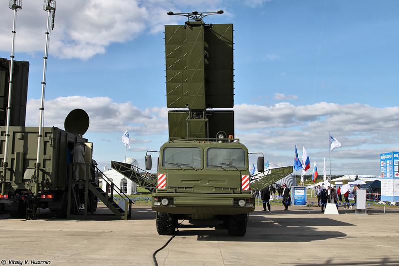 Радиолокационный комплекс 55Ж6М (55Zh6M Nebo-M mobile multiband radar system)<br /> Радиолокационный модуль сантиметрового диапазона волн РЛМ-С (RLM-S radar)