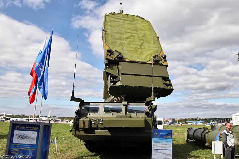Многоканальная станция наведения ракет 9С32МЭ (9S32ME multichannel missile guidance station)