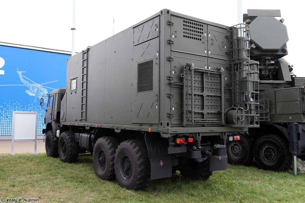 Батарейный пункт управления ЗРПК Панцирь-С1 (Pantsir-S1 battery command post)