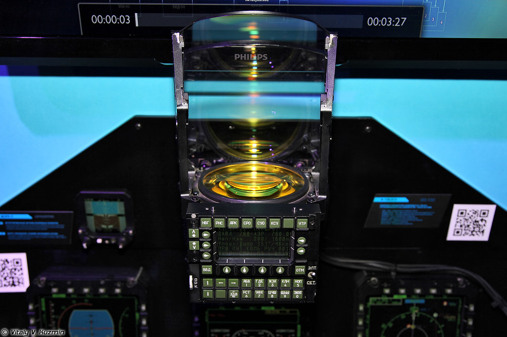 Индикатор ИЛС-202Э (ILS-202E head-up display)