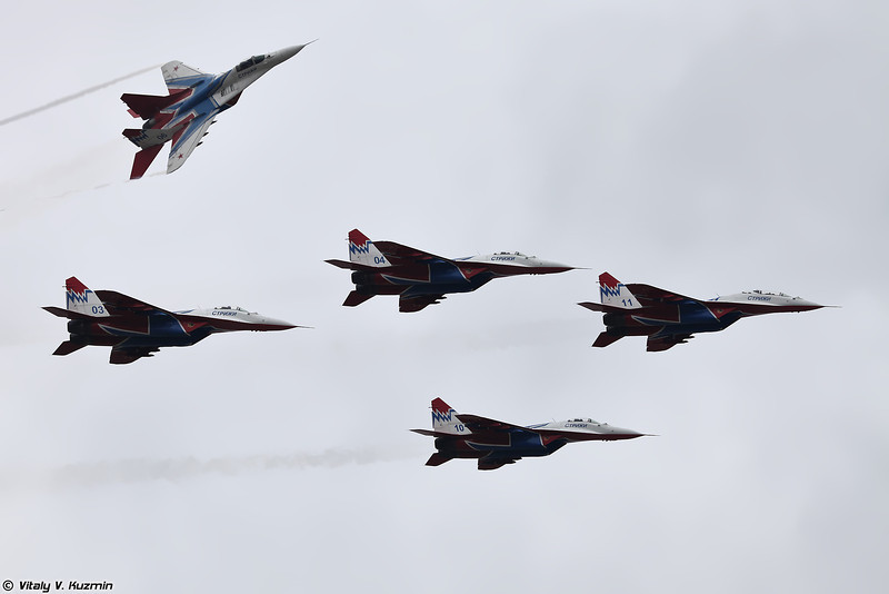 АГВП Стрижи (The Swifts Aerobatic team)