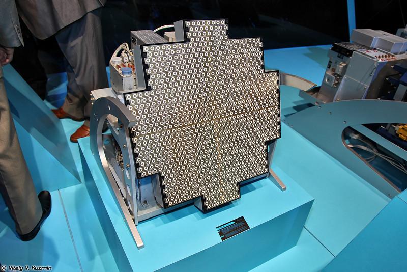 Модифицированный вариант БРЛС Жук-АЭ/FGA-35 с АФАР (Zhuk-AE/FGA-35 modified radar with AESA)