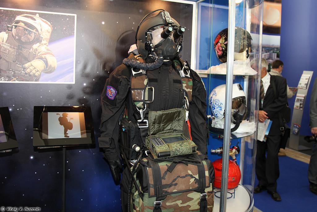 Комплект кислородного оборудования и снаряжения парашютиста ККО-П (KKO-P paratrooper oxygen and equipment set)