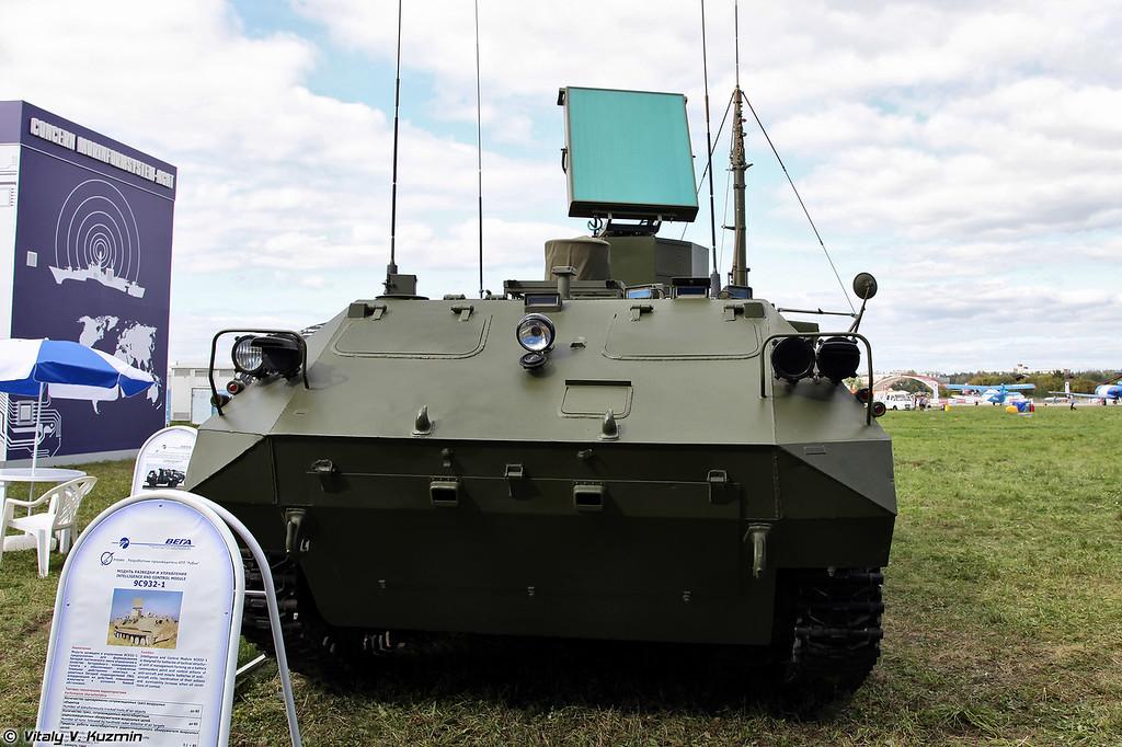 Модуль разведки и планирования 9С932-1 из состава АСУ Барнаул-Т (9S932-1 intelligence and control module from Barbaul-T command and control system)
