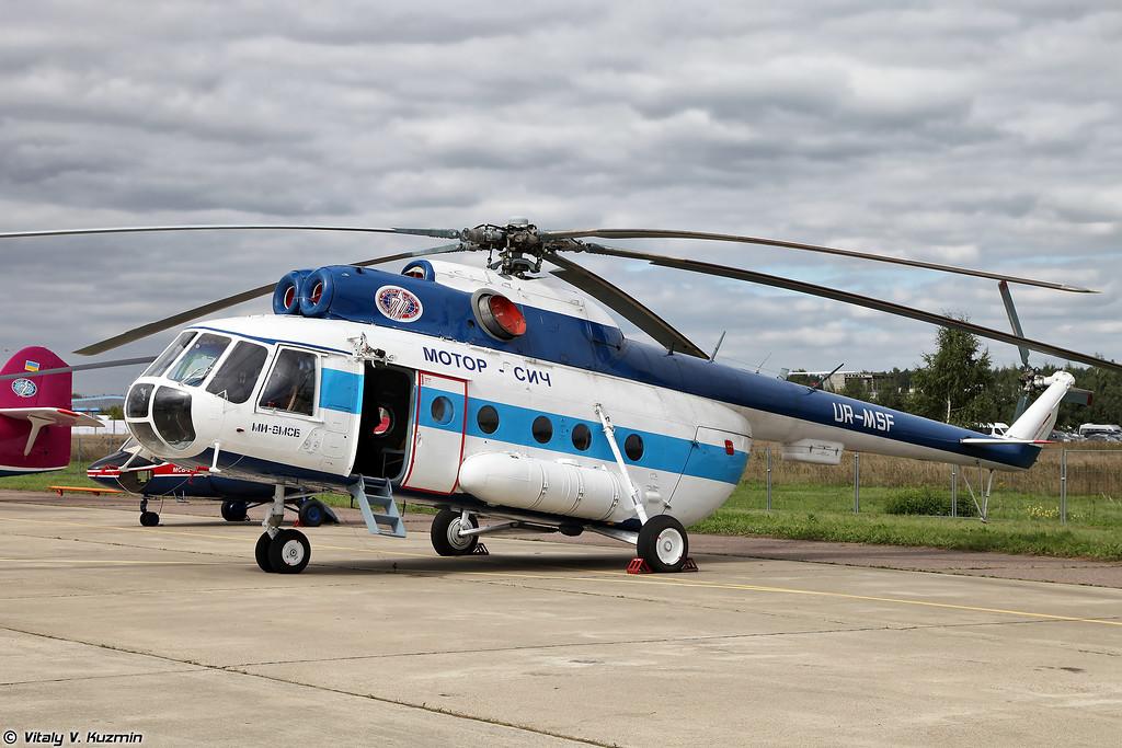 Средний транспортный вертолет Ми-8МСБ (Mi-8MSB)