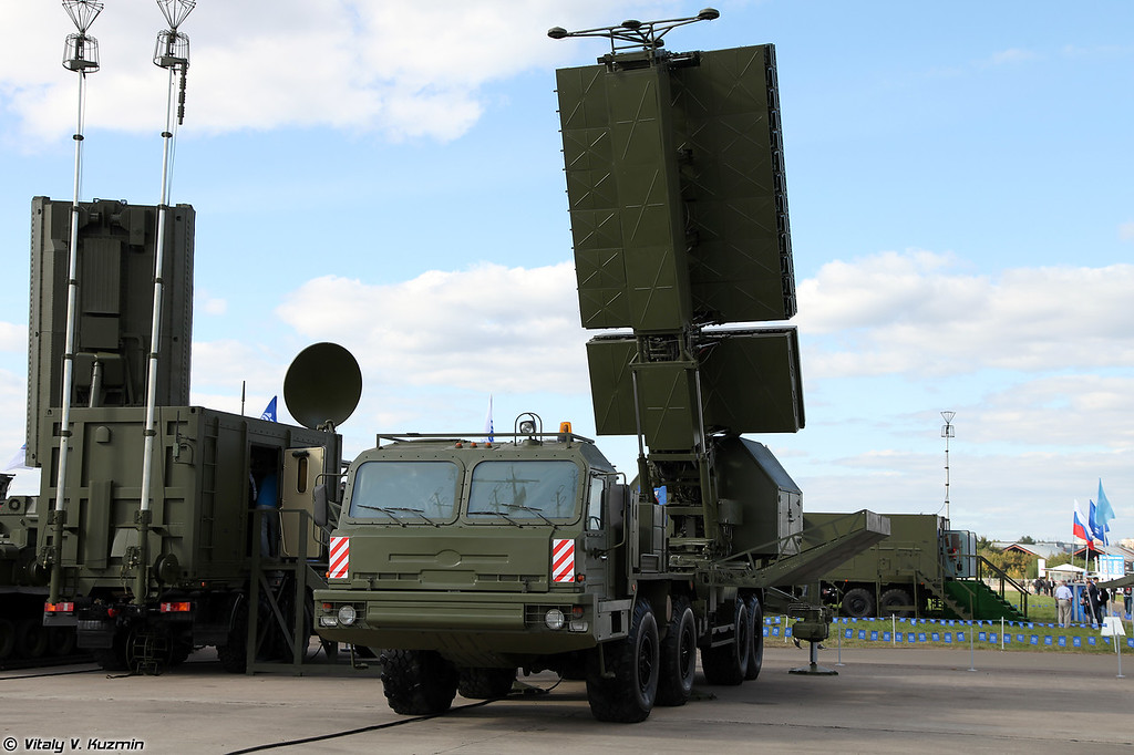 Радиолокационный комплекс 55Ж6МЕ (55Zh6ME Nebo-ME mobile multiband radar system)<br /> Радиолокационный модуль сантиметрового диапазона волн РЛМ-СЕ (RLM-SE radar)