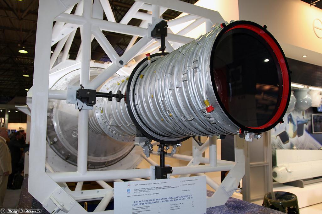 Оптико-электронная аппаратура дистанционного зондирования земли Геотон-Л1 для КА Ресурс-П (Geoton-L1 electro-optical equipment for earth remote sensing for Resurs-P spacecraft)