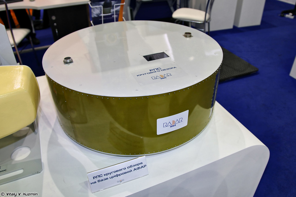 БРЛС кругового обзора большой дальности на базе цифровой АФАР (Airborne all-round radar with AESA)
