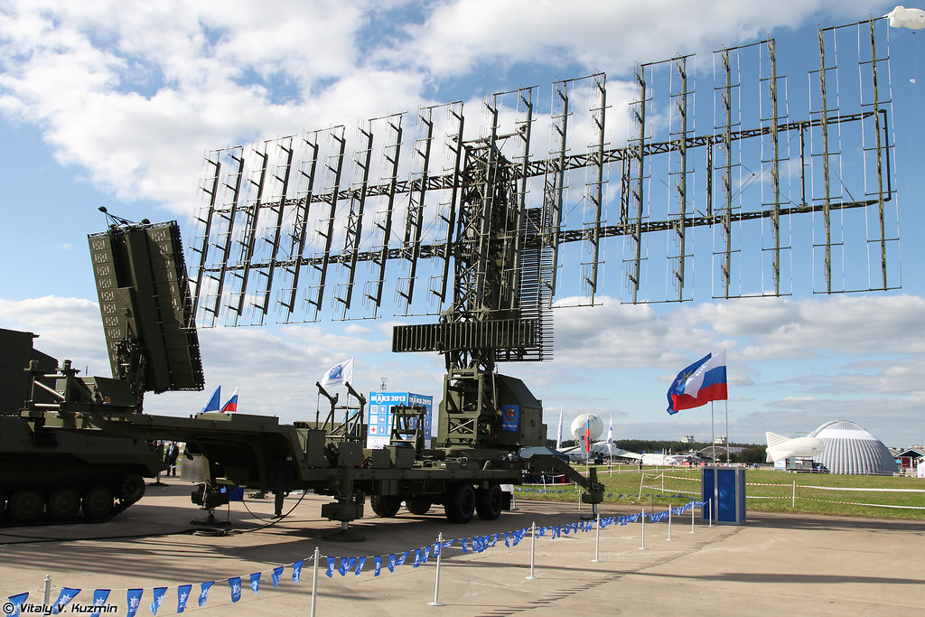 Трехкоординатная PЛC средних и больших высот дежурного режима 55Ж6УМЕ (55Zh6UME radar)