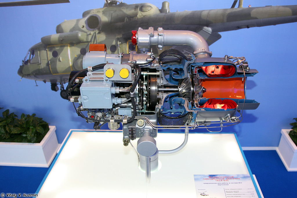 Вспомогательный газотурбинный двигатель ТА14-031 (Auxiliary gas turbine engine TA14-031)